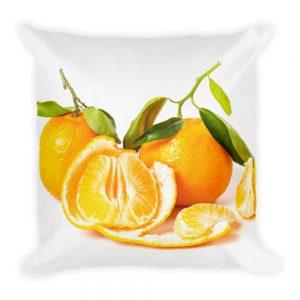 sierkussen mandarijnen fruit