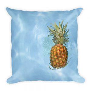 Sierkussen fruit ananas zwembad