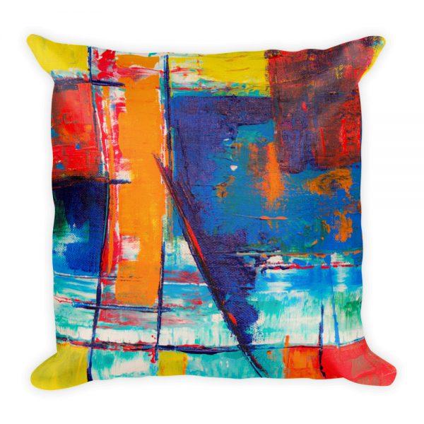 Sierkussen kleurrijk abstract