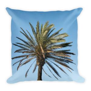 sierkussen palmboom