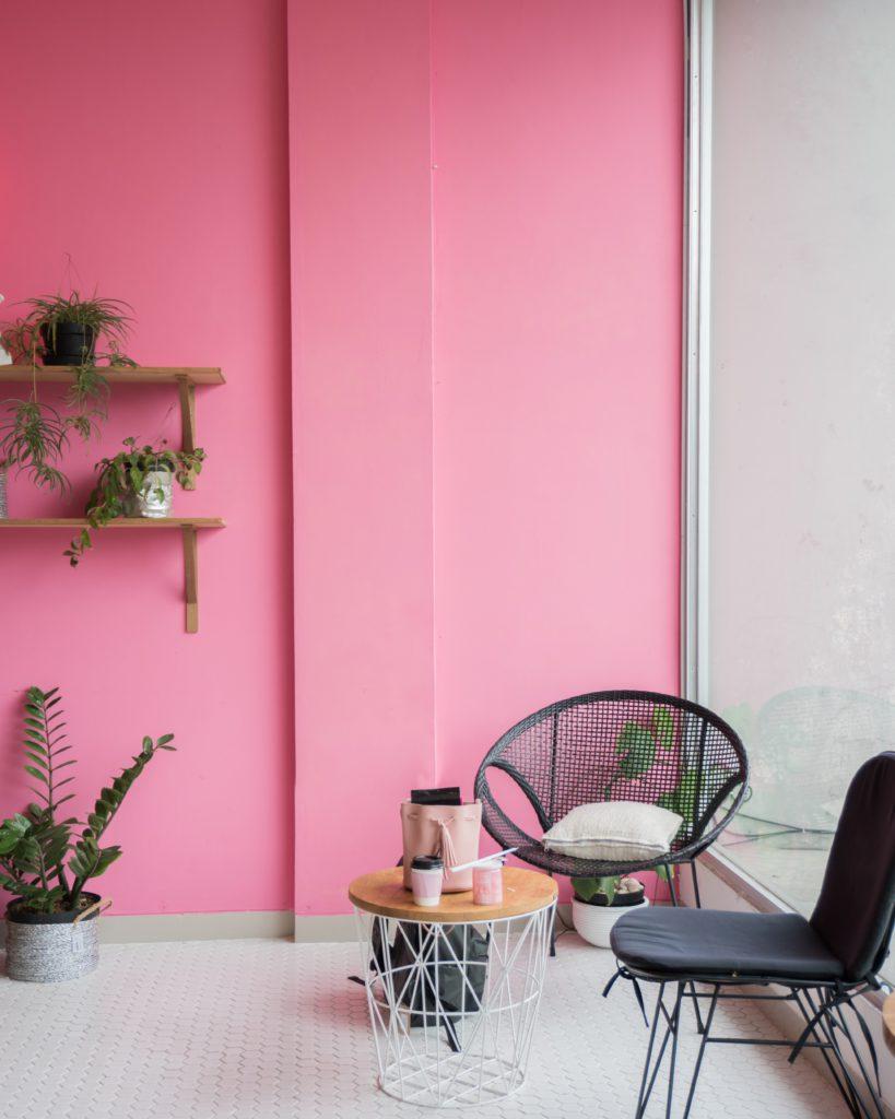 psychologisch effect van kleuren op je interieur roze