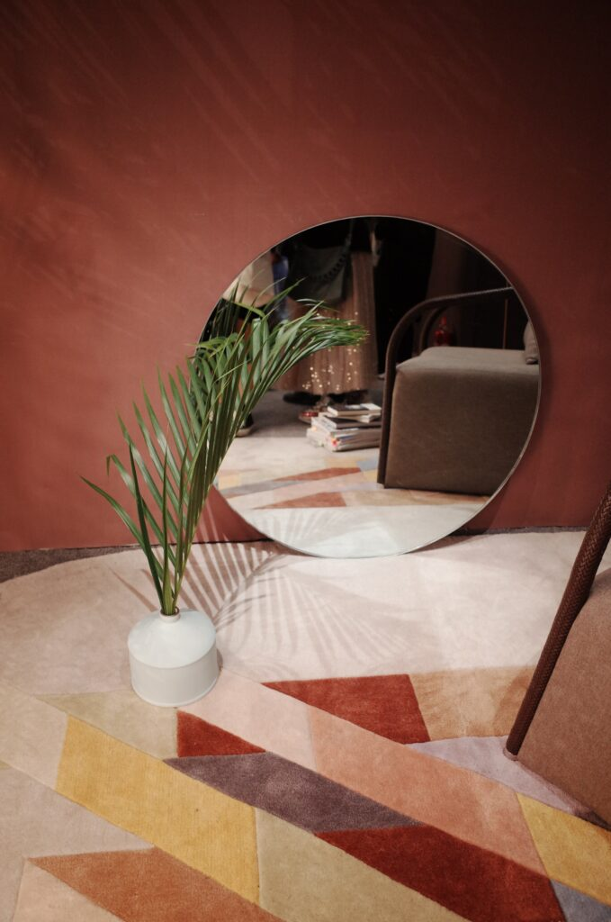 colour blocking in je interieur